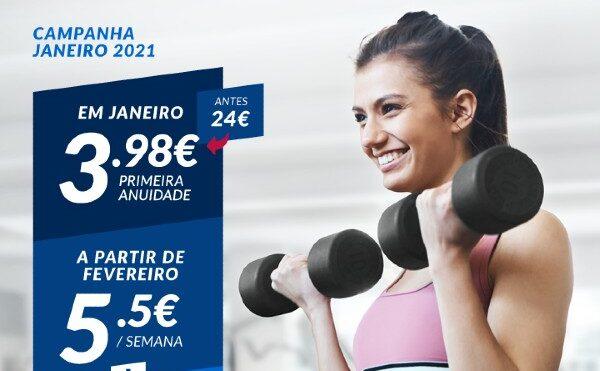 Ginásios Fitness Hut com vantagens únicas para início de 2021