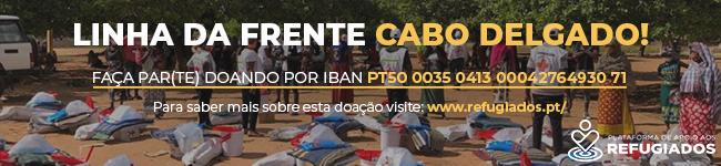 """Linha da Frente """"Cabo Delgado"""""""